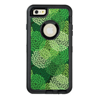 Green floral pattern OtterBox iPhone 6/6s plus case