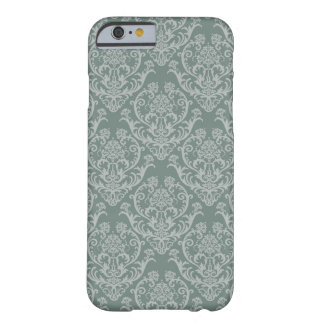 Green floral wallpaper barely there iPhone 6 case
