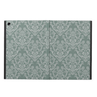 Green floral wallpaper case for iPad air
