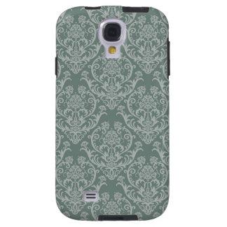Green floral wallpaper galaxy s4 case