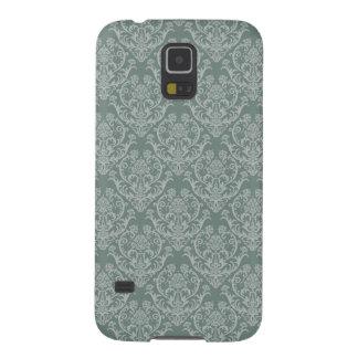 Green floral wallpaper galaxy s5 case