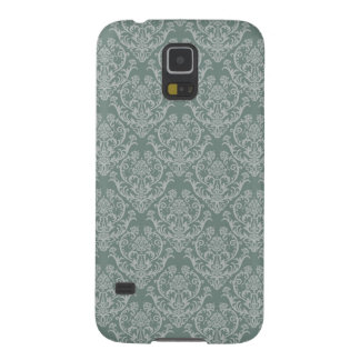 Green floral wallpaper galaxy s5 cases