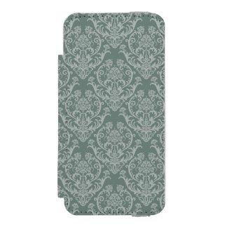 Green floral wallpaper incipio watson™ iPhone 5 wallet case