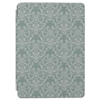 Green floral wallpaper iPad air cover