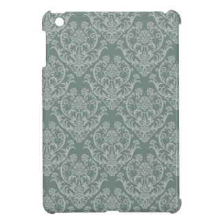 Green floral wallpaper iPad mini cover