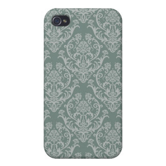 Green floral wallpaper iPhone 4/4S covers