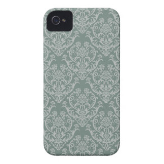 Green floral wallpaper iPhone 4 case