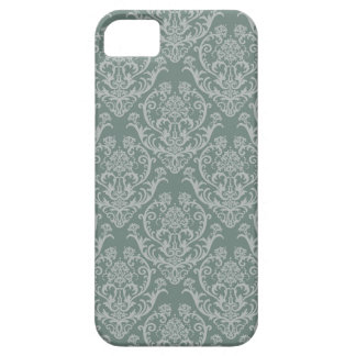 Green floral wallpaper iPhone 5 case
