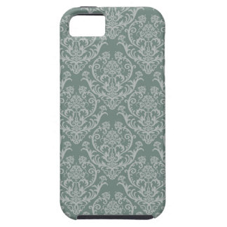 Green floral wallpaper iPhone 5 cover