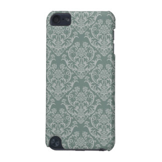 Green floral wallpaper iPod touch (5th generation) cover