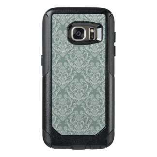 Green floral wallpaper OtterBox samsung galaxy s7 case