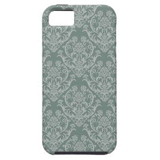 Green floral wallpaper tough iPhone 5 case