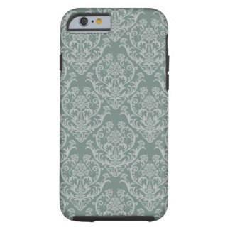 Green floral wallpaper tough iPhone 6 case