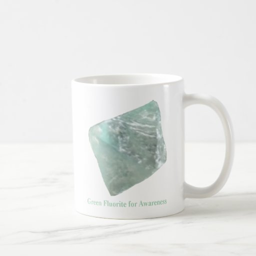 Green Fluorite for Awareness Mug
