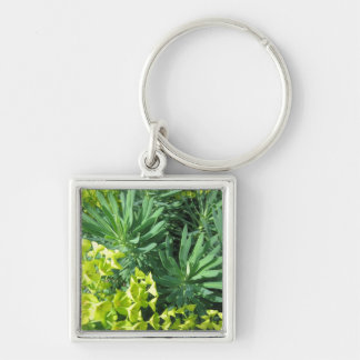 Green Foliage Keychain