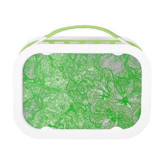 Green Foliage Lunch Box