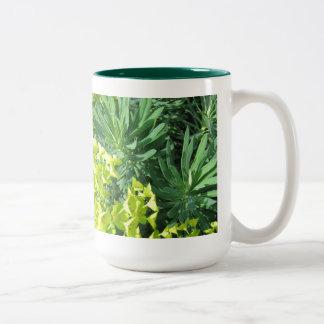 Green Foliage Mug