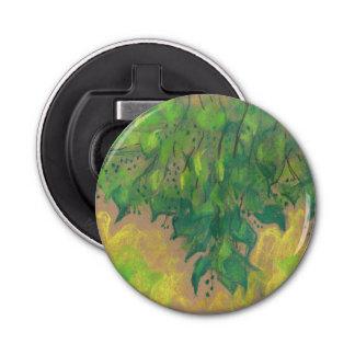 Green Foliage, pastel drawing, life sketch, nature