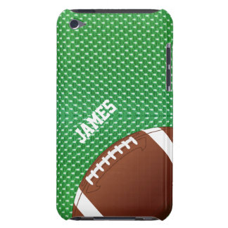 Green Football Custom iPod Touch Case
