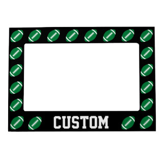Green Football Custom Magnetic Picture Frame