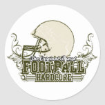 Green Football Hardcore Tshirts and Gifts Stickers