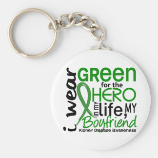 Green For Hero 2 Boyfriend Kidney Disease Key Ring