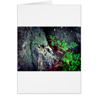 Green for hope greeting card