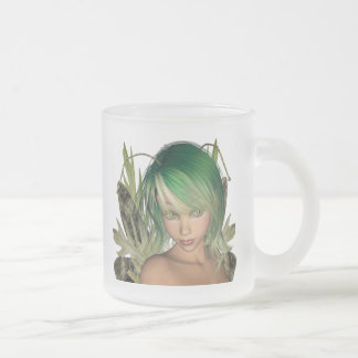 Green Forest Fairy 3D Close-Up Mug