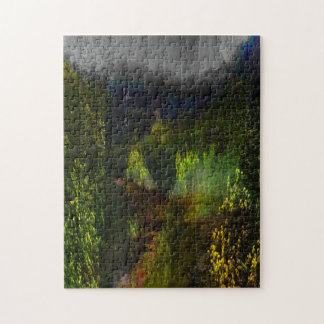 Green Forest Journey Jigsaw Puzzle
