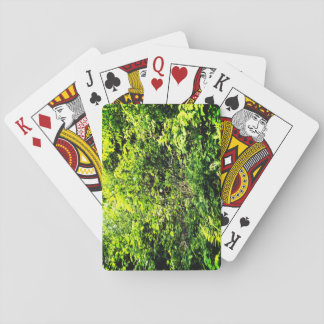 Green Forest Playing Cards