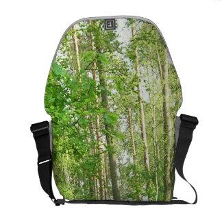 Green Forrest Messenger Bag