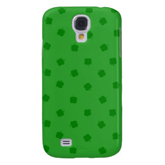 Green Four Leafed Clover Irish Luck Galaxy S4 Case