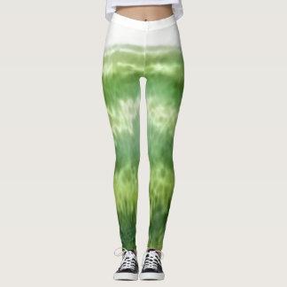 Green Four Leggings