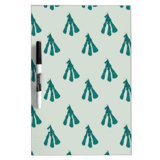 Green foxglove dry erase board