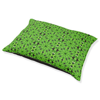 Green fractal pattern