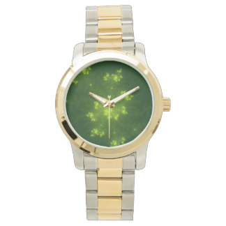 Green Fractal Watch