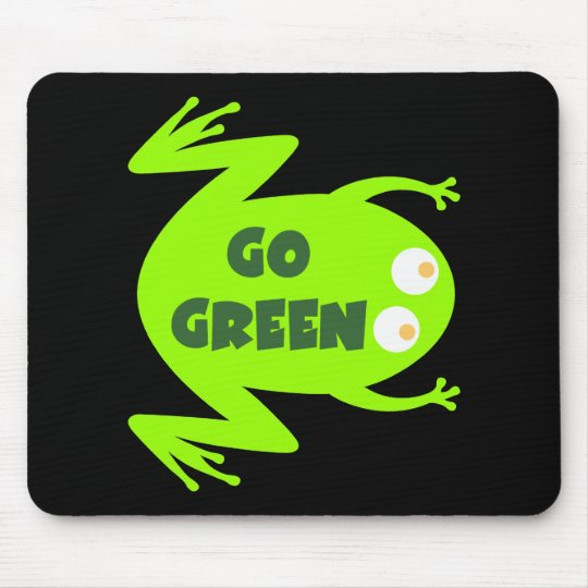 Green Frog Ecology Gift Mouse Mat