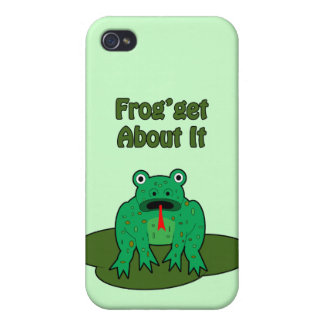 Green Frog - Frog Get About It iPhone 4 Cover