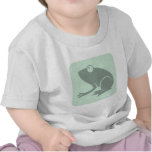 Green Frog Icon Shirts
