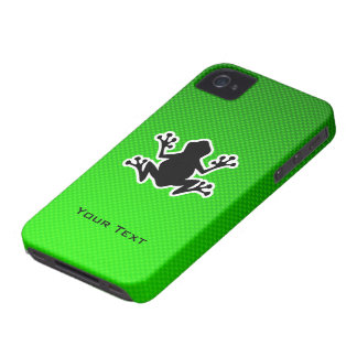 Green Frog iPhone 4 Cases