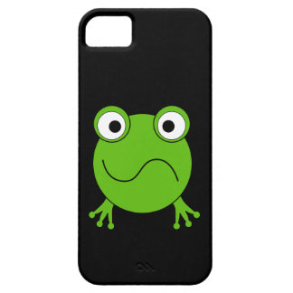 Green Frog. Looking confused. Barely There iPhone 5 Case