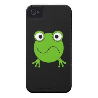 Green Frog. Looking confused. Case-Mate iPhone 4 Case