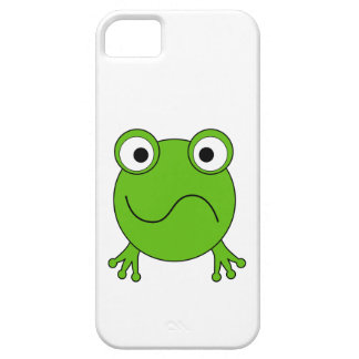 Green Frog. Looking confused. iPhone 5 Cover