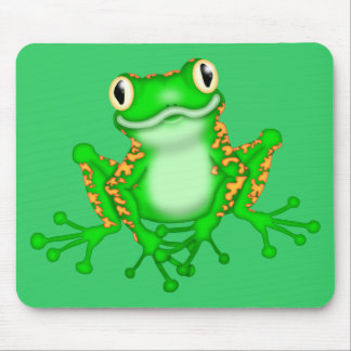 Green Frog Mouse Mat