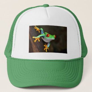 Green Frog Nature Wildlife Trucker Hat