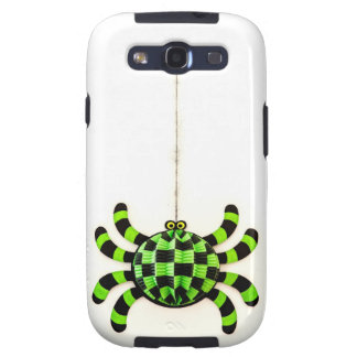 Green Funny Spider Galaxy S3 Cases