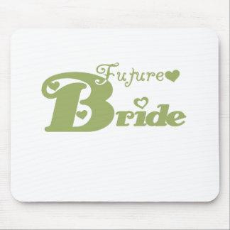 Green Future Bride Mouse Pad