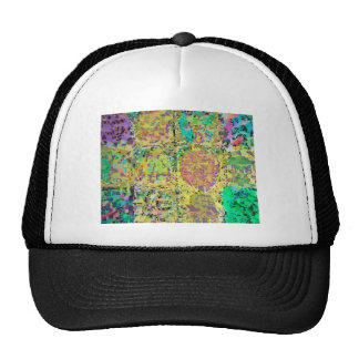 Green Garden - 12 Hidden Reiki Signs V3 Cap