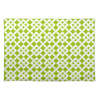 Green Garden Lattice Placemat