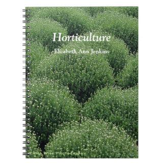 Green Garden Notes Notebooks